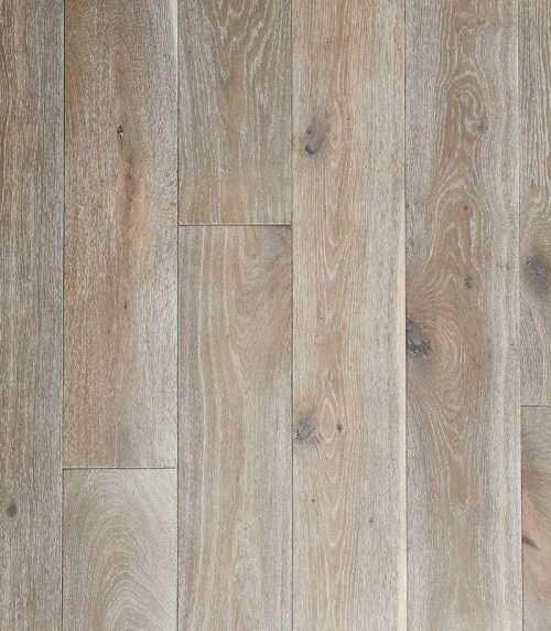 Stone Oak European Oak Engineered Flooring 20mm x 190mm Brushed & UV Oiled - Rustic