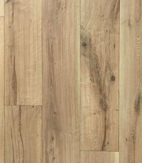 Natural Antique European Oak Engineered Flooring 20mm x 240mm Hand Scraped, UV Oiled - Rustic