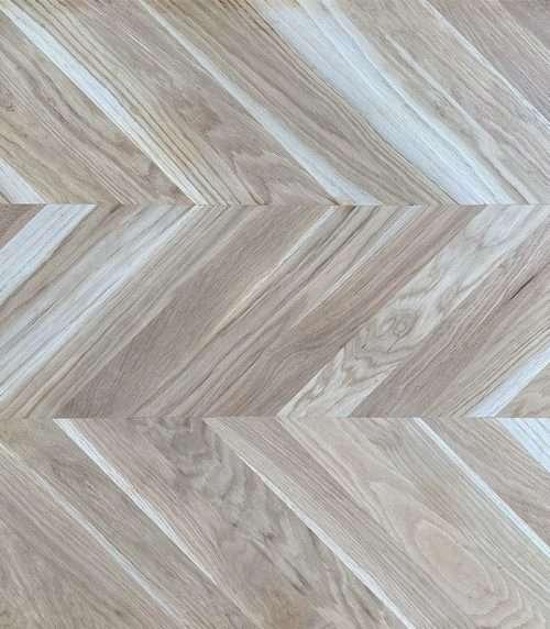 Unfinished European Oak Engineered Flooring 21mm x 70mm Chevron